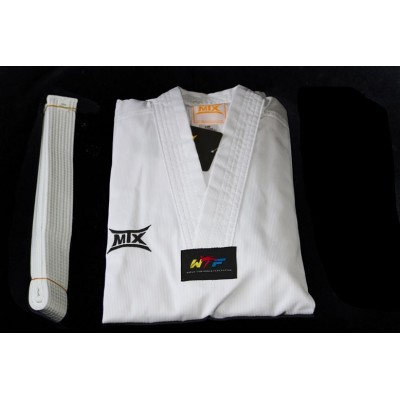 6ade629209cb Dobok basic col blanc Taekwondo MTX